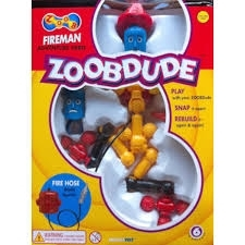 ZOOB Dude Fireman Adventure Hero