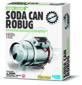 SM Green Science - Soda Can Robug