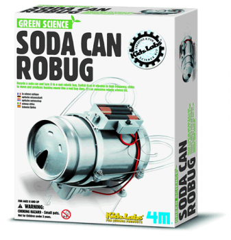 SM Green Science - Soda Can Robug