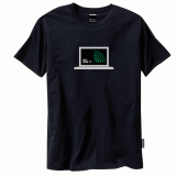 Wifi Detecting T-Shirt Green