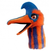 Jangle Hand Puppet (BLUE/ORANGE STRIPE)