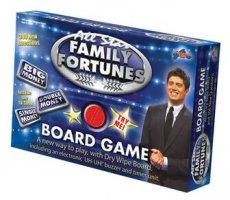 DP FAMILY FORTUNES BOARD GAME