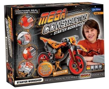 John Adams Mega Construction Motorbike