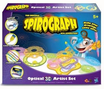 WD Spirograph Optical 3D Set