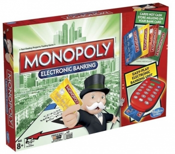 Monopoly Electronic Banking by Hasbro