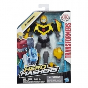 Transformers Hero Masher Figure Ast - Bumblebee.