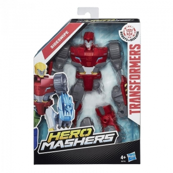 Transformers Hero Masher Figure Ast - Sideswipe.
