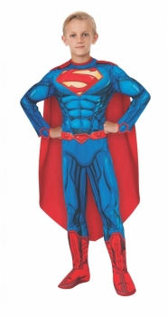 1kH SUPERMAN Costume with Muscular Chest