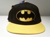 HM DC Comics Batman Yellow & Black Cap