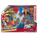 ZP Transformers Hero Mashers Bumblebee and Strafe Team Pack