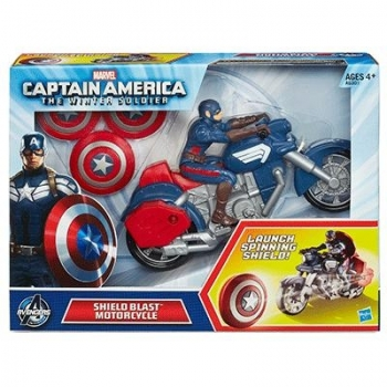 CAPTAIN AMERICA 2 SHIELD BLAST